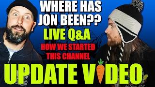 Tips on Going Vegan Q&A & Where IS Jon LIVE 2/11/17