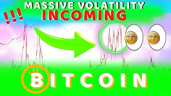 BITCOIN VOLATILITY IS ABOUT TO SKYROCKET!! NO TIME LEFT ONCE WE BREAK THIS KEY BITCOIN PRICE!!!!