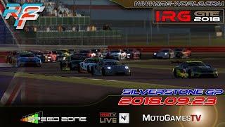 rFactor 2 – IRG GTE 2018 – ROUND 2 - Silverstone - LIVESTREAM