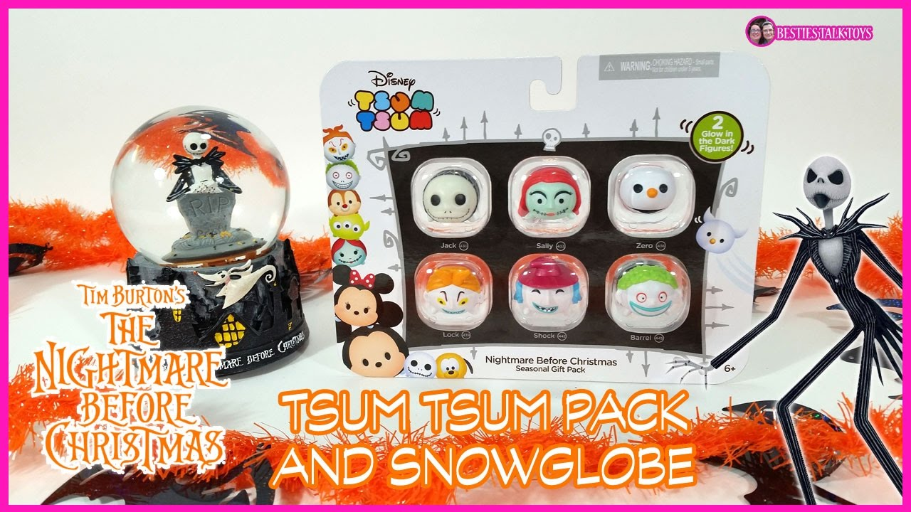 Nightmare Before Christmas Tsum Tsums and Snowglobe from Walgreen\'s ...