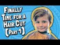 Finally Time for a Haircut (Part 1): Timmy the Timbo // Little Boy's Haircut Style