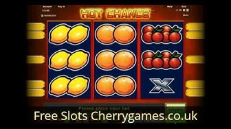 Hot Chance Video Slot - Play Novomatic Casino games at CherryGamesCoUk