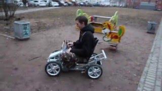 видео: Самодельный детский электромобиль часть-2