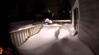 Snowpocalypse 2015 (time-lapse) Boston, Ma - Jackman Carpentry