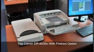The Canon DR-6030 With Flatbed Option For Awkward Documents