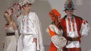 Старинные мотивы в современной одежде(, 2013-02-16T16:59:04.000Z)