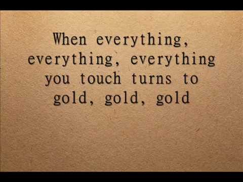 Imagine Dragons - Gold Lyrics