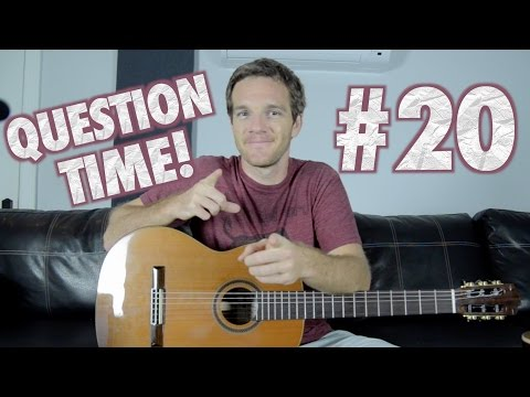 Question Time! Favorite YouTubers, Chord Symbols and Wilco