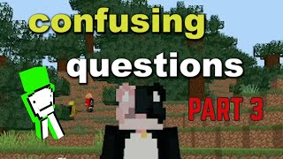 asking the Dream SMP confusing questions (ft. ranboo, karljacobs, fundy, wilbursoot) (part 3)