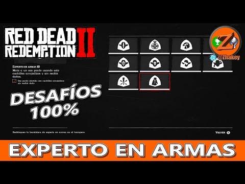 Red Dead Redemption 2: Todos los de Desafíos de Experto en Armas thumbnail