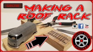 HOW TO MAKE A HOT WHEELS ROOF RACK ⦿