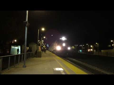 Some more Night Railfanning in Palo Alto