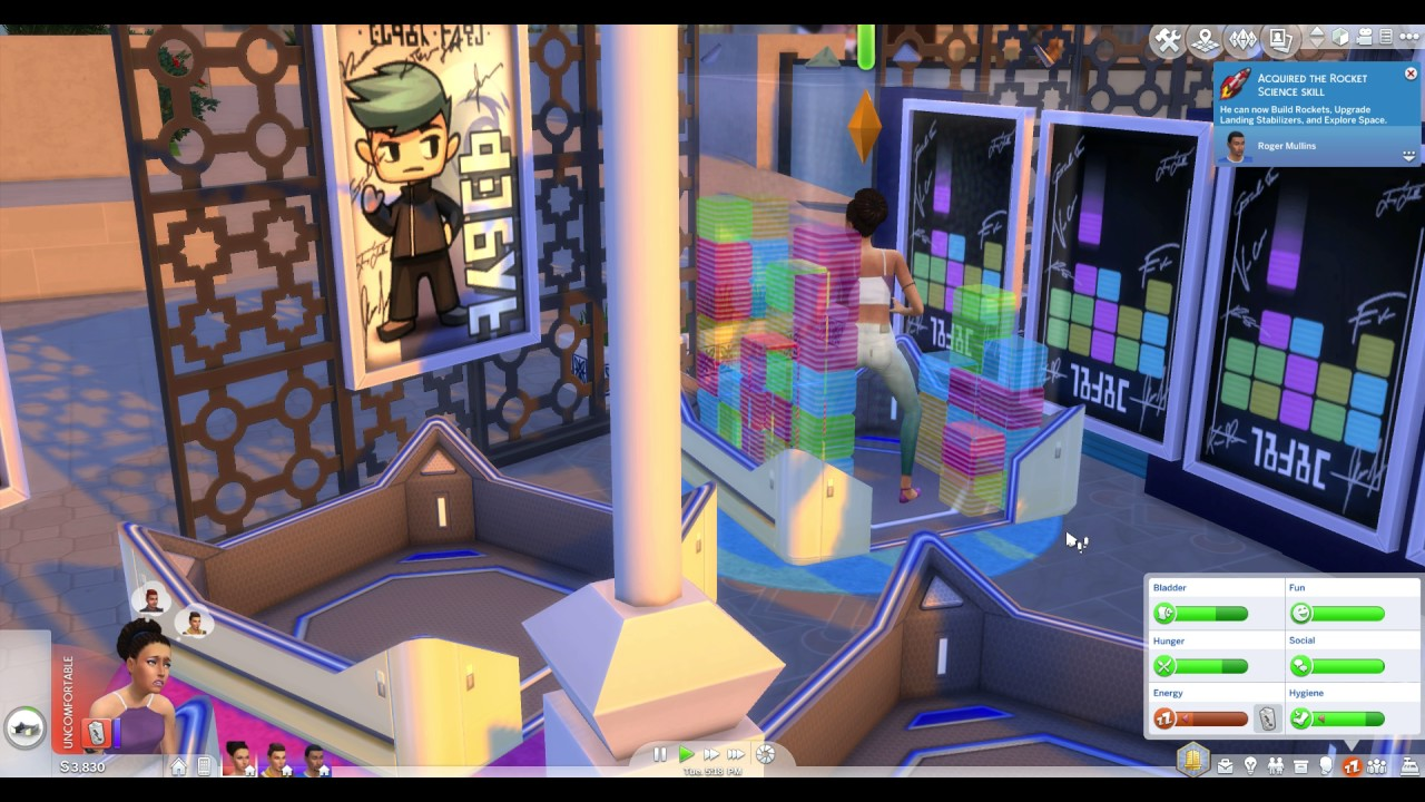 Sims 4 Explore Space