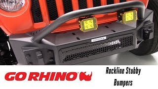 In the Garage™ with Performance Corner®: Go Rhino Rockline Stubby Bumper