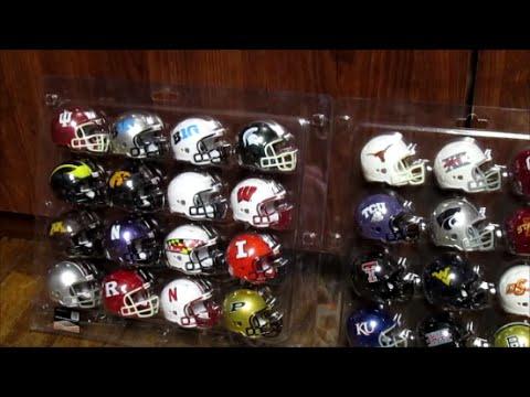 College Football Mini Football Helmets Review SEC/BIG12/BIG10