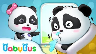 Panda Kiki Caught a Cold | Tips To Prevent A Cold | Doctor Pretend Play | Kids Good Habits | BabyBus thumbnail