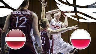 Latvia v Poland - Full Game - Semi-Finals - FIBA U20 European Championship Division B 2018
