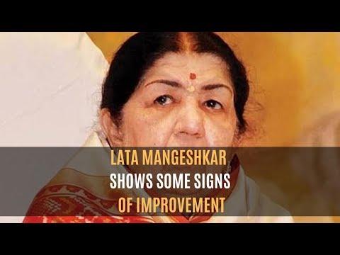 Lata Mangeshkar Health Update: Shows Some Signs Of Improvement   SpotboyE thumbnail