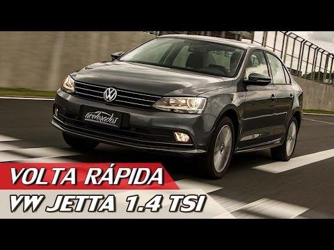 VOLKSWAGEN JETTA 1.4 TSI -  VOLTA RÁPIDA #78 + PILOTO POR UM DIA COM RUBENS BARRICHELLO   ACELERADOS