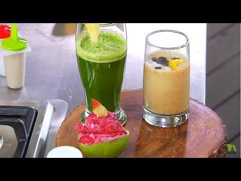 Jugo detox verde - Smoothie - Helado - Tostadas francesas | Andrés Trujillo | La Sartén por el Mango