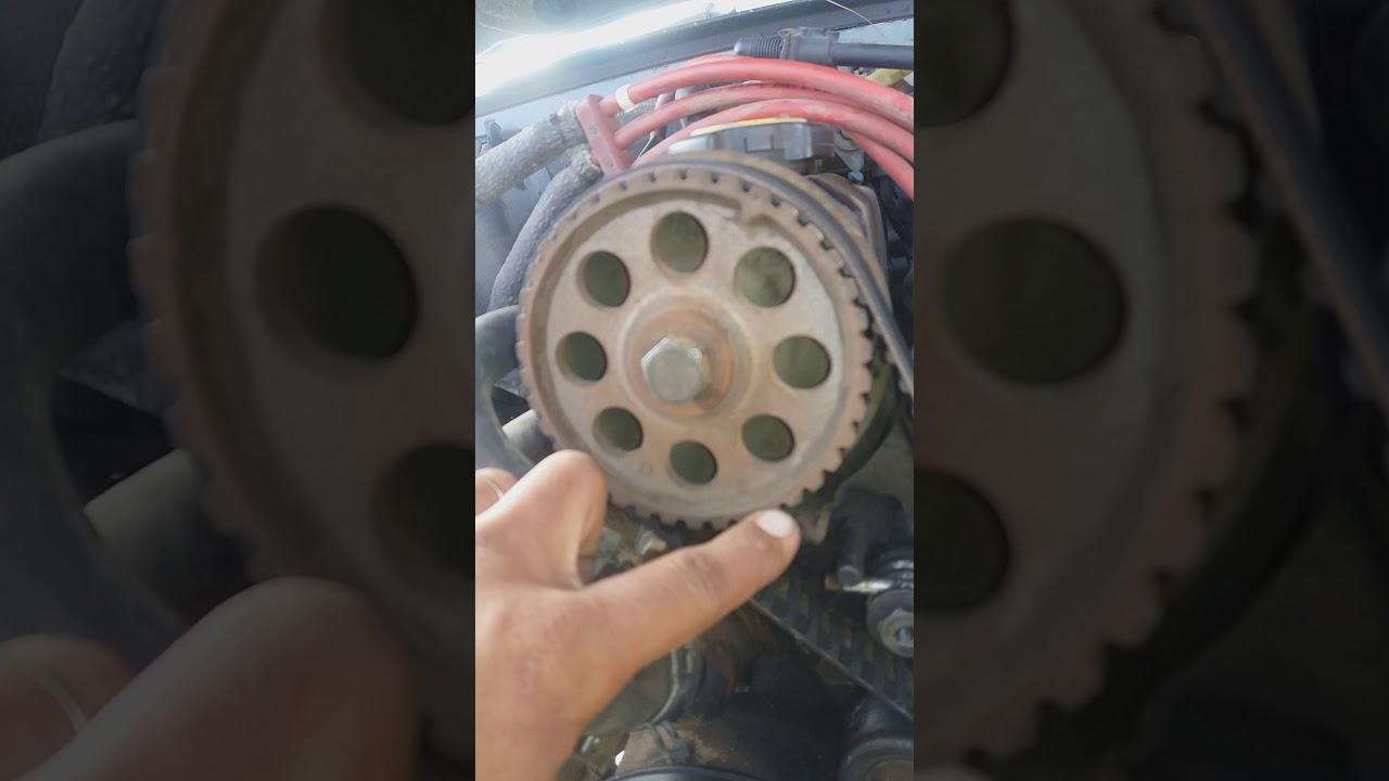 1990 ford mustang 4 cylinder timing belt marks(super easy!)