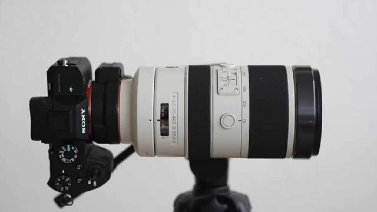 sony a7 ii with 70 400mm lens youtube. Black Bedroom Furniture Sets. Home Design Ideas
