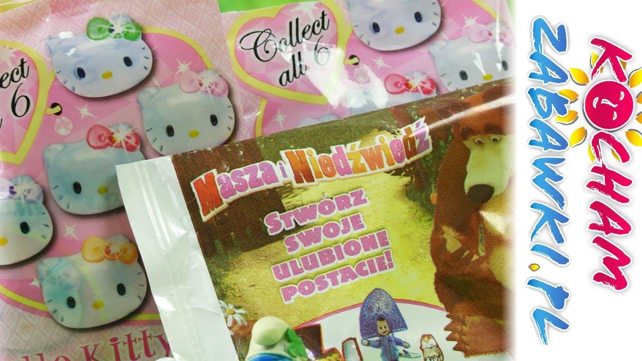Smerfy Stikeez • Odkrywanie Niespodzianek • Masza i Niedźwiedź & Hello Kitty • Unboxing