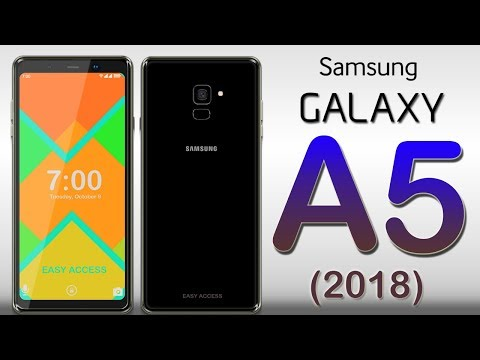 Samsung Galaxy A5 (2018) First Look, Phone Specifications, Price, Release Date, Features.