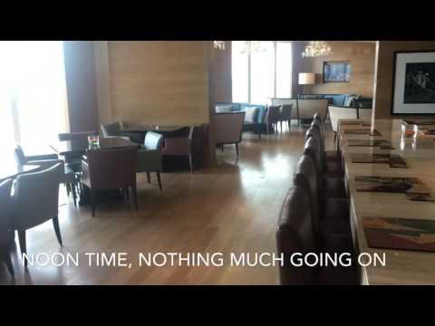 JW Marriott Hanoi Executive Club Lounge Hanoi Vietnam Noon time