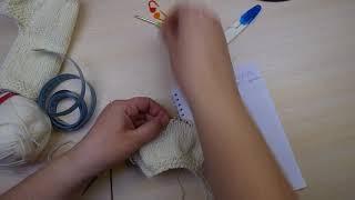 Мастер-класс Жилетка для недоношенных детей (кокеткой сверху)/ Клуб 28 петель