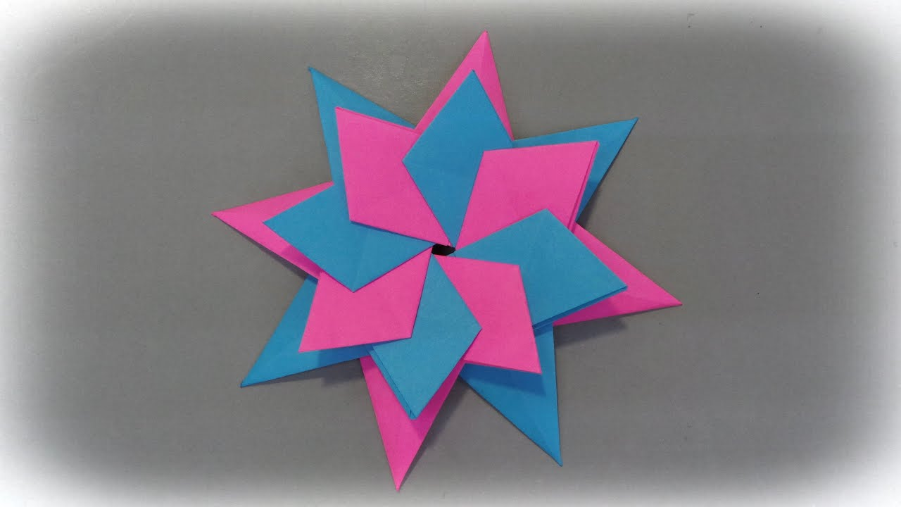 Stern Helena Falten Origami Star Tutorial Paper Star Youtube