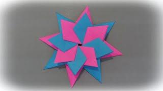 Origami Star - Tutorial - Paper star