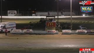 LIVE  from Jacksonville Speedway: MOWA Sprint Cars and More (5/24/2019)