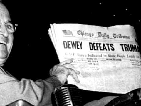 1948 Dewey Defeats Truman