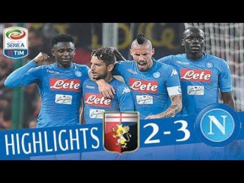 Genoa - Napoli 2-3 - Highlights - Giornata 10 - Serie A TIM 2017/18