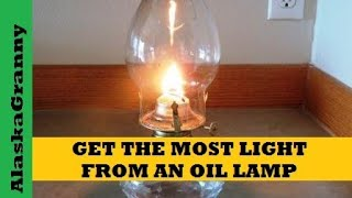 Get the Most Light from Oil Lamps - How To Trim the Wick