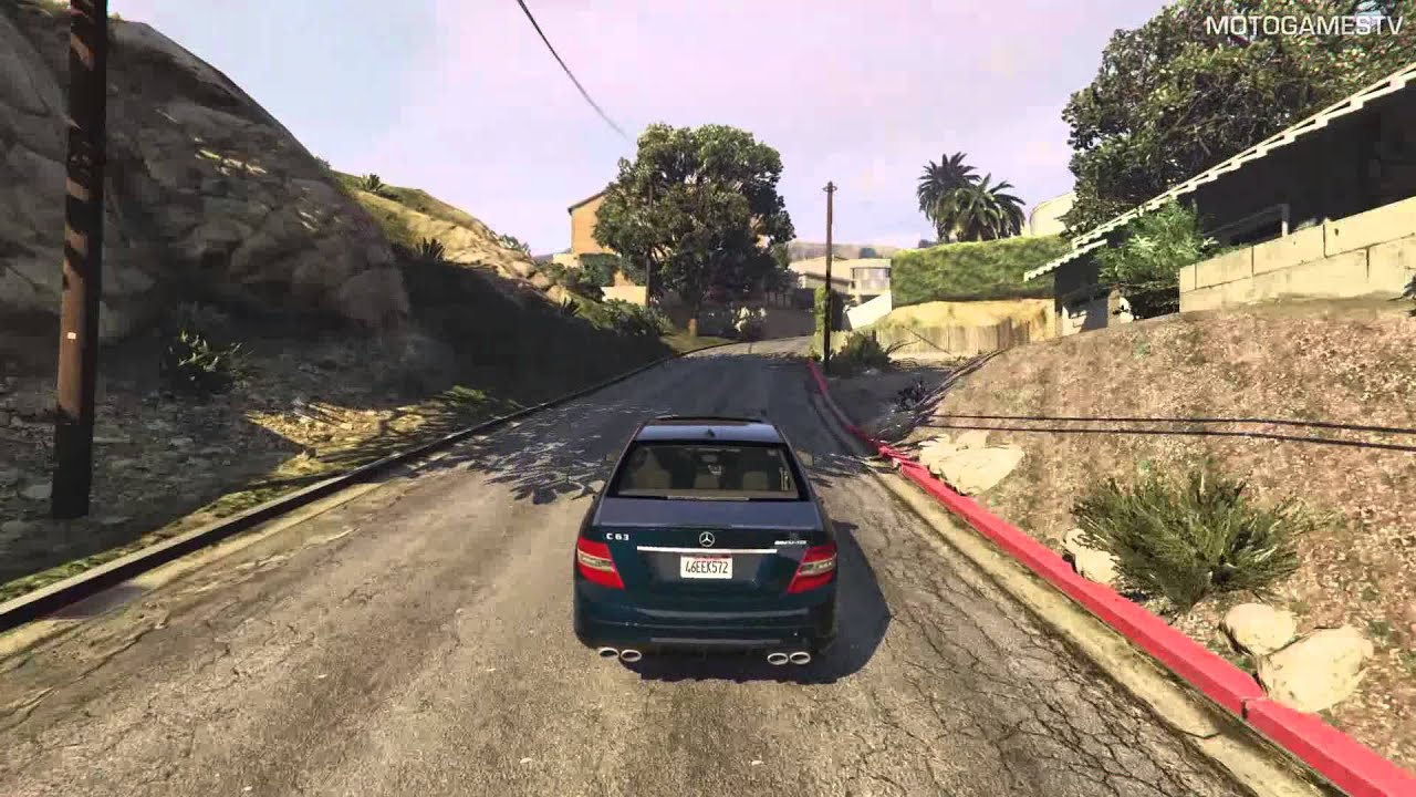 GTA V [PC] - Mercedes-Benz C63 AMG Mod