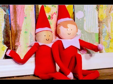 Sew A Do It Yourself Elf Youtube