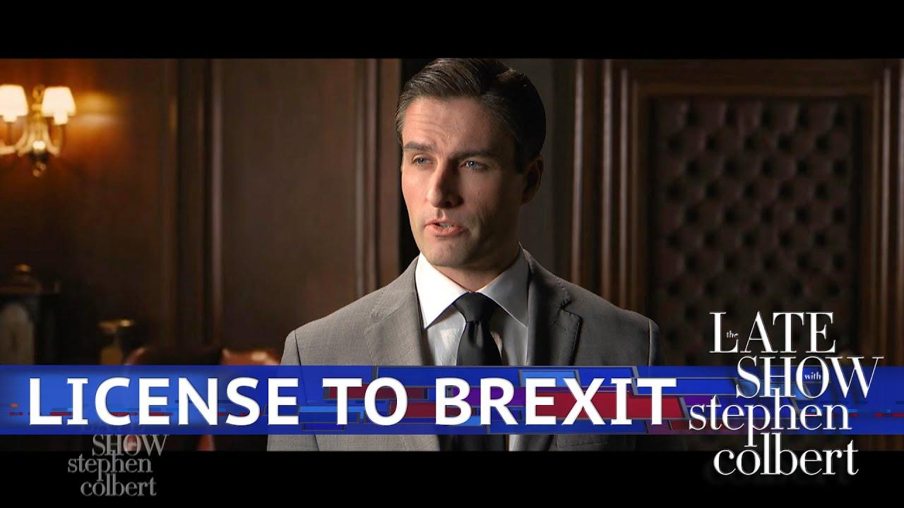 James Bond's Latest Mission: Brexit