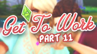 Let's Play The Sims 4: Get To Work | Part 11 - To Space!
