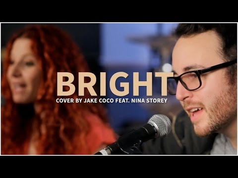 Echosmith - Bright (Acoustic Cover by Jake Coco feat. Nina Storey) - Official Music Video