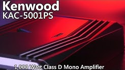 Kenwood KAC-5001PS 1,000 Watt Car Amplifier