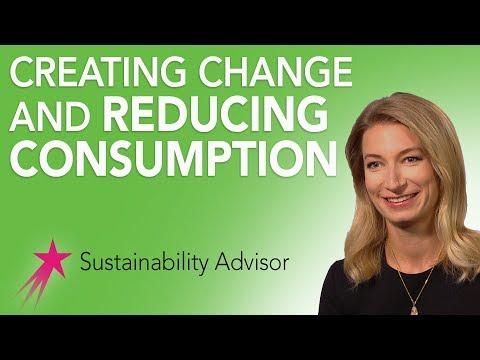 Sustainability Advisor: Why a Sustainability Advisor - Michaela Rose Career Girls Role Model