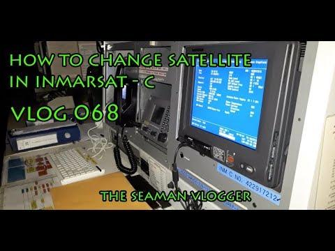 V068 How Change Satellite In Inmarsat C