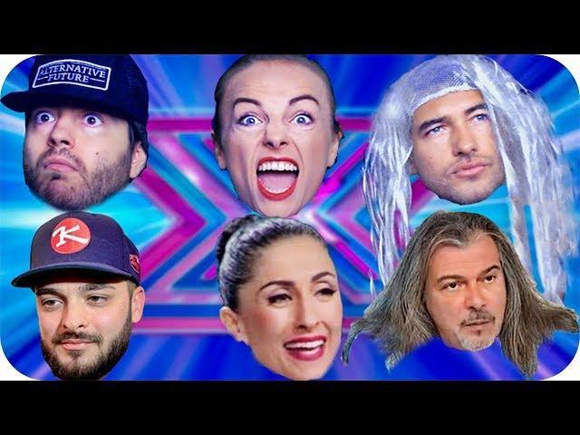 X FACTOR ПАРОДИЯ😂 с КРИСКО, САНЯ И МАГИ 🎵📺🎤 ft. Zakary