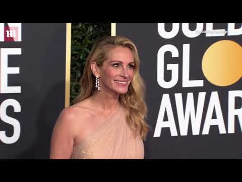 Julia Roberts commands attention at 2019 Golden Globe Awards