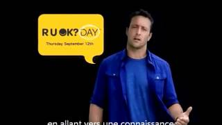 Alex O'Loughlin - RUOK?Day