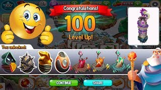 Dragon City Finally Reach Level 100 Thanks For Me Deus