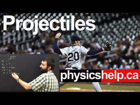 Physics Projectile Motion Horizontal Shot Part 1 Lesson
