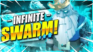 IMPOSSIBLE TO DEFEND THIS!! NEW 8000+ TROPHY DECK IN CLASH ROYALE!! 🏆